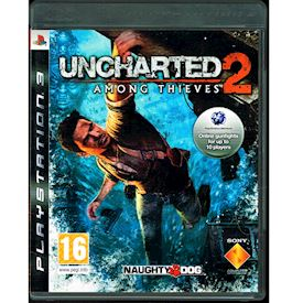 UNCHARTED 2 AMONG THIEVES PROMO PS3