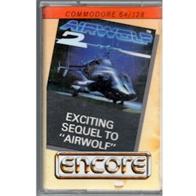 AIRWOLF 2 C64 TAPE