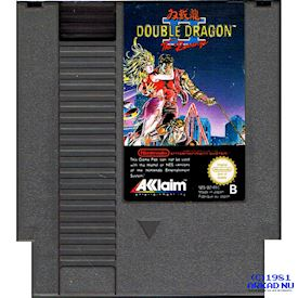 DOUBLE DRAGON II THE REVENGE NES DAS