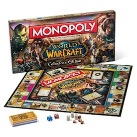 MONOPOL WORLD OF WARCRAFT COLLECTORS EDITION NYTT