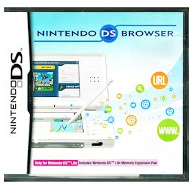 NINTENDO DS LITE BROWSER MED MINNESEXPANSIONS PAK