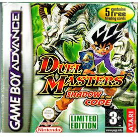 DUEL MASTERS SHADOW OF THE CODE LIMITED EDITION GBA