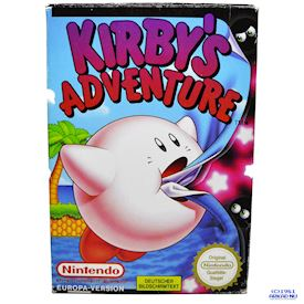 KIRBYS ADVENTURE NES TYSK TEXT I SPELET