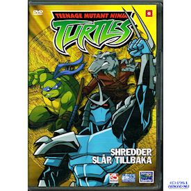 TEENAGE MUTANT NINJA TURTLES SHREDDER SLÅR TILLBAKA DVD