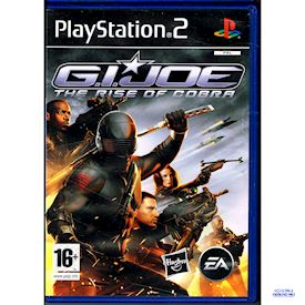 GI JOE THE RISE OF COBRA PS2