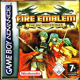 FIRE EMBLEM THE SACRED STONES GBA