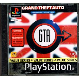 GRAND THEFT AUTO LONDON MISSION PACK #1 LONDON 1969 PS1