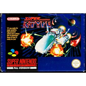 SUPER R-TYPE SNES SCN