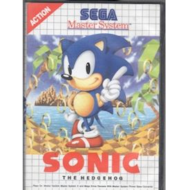 SONIC THE HEDGEHOG MASTERSYSTEM