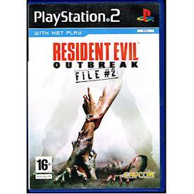 RESIDENT EVIL OUTBREAK FILE #2 PS2