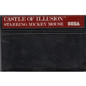 CASTLE OF ILLUSION STARRING MICKEY MOUSE MASTER SYSTEM