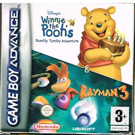 WINNIE THE POOHS RUMBLY TUMBLY ADVENTURE + RAYMAN 3 GBA