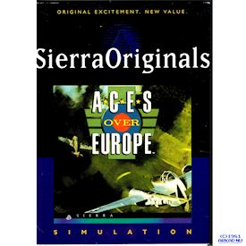 ACES OVER EUROPE PC BIGBOX