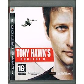 TONY HAWK PROJECT 8 PS3