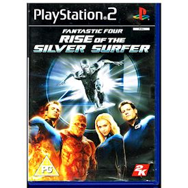 FANTASTIC FOUR RISE OF THE SILVERSURFER PS2