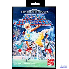 EUROPEAN CLUB SOCCER MEGADRIVE
