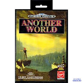 ANOTHER WORLD MEGADRIVE