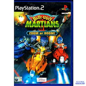 BUTT UGLY MARTIANS ZOOM OR DOOM PS2