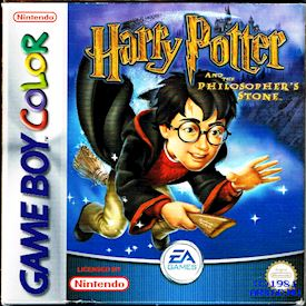 HARRY POTTER AND THE PHILOSOPHERS STONE GBC