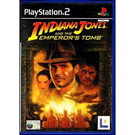 INDIANA JONES AND THE EMPERORS TOMB PS2