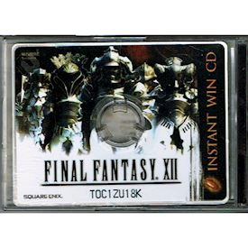FINAL FANTASY XII INSTANT WIN CD