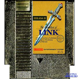 ZELDA II THE ADVENTURE OF LINK NES REV-A USA