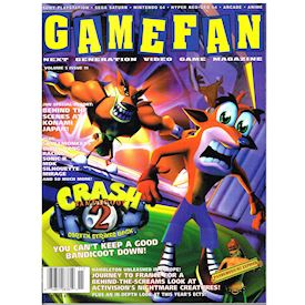 GAMEFAN MAGAZINE VOLUME 5 ISSUE 11