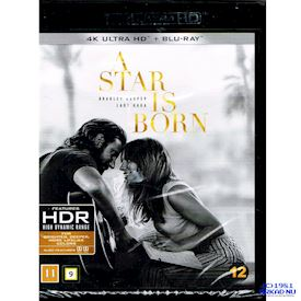 A STAR IS BORN 4K ULTRA HD + BLU-RAY