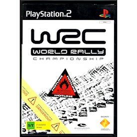 WRC WORLD RALLY CHAMPIONSHIP PS2