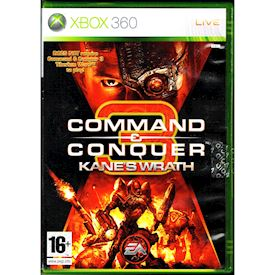 COMMAND & CONQUER 3 KANES WRATH XBOX 360