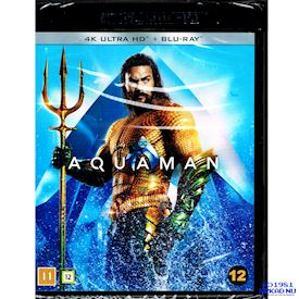 AQUAMAN 4K ULTRA HD + BLU-RAY