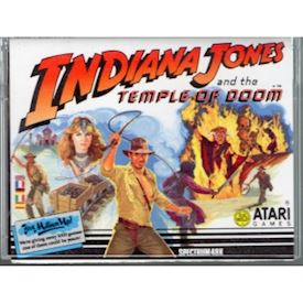 INDIANA JONES AND THE TEMPEL OF DOOM ZX SPECTRUM