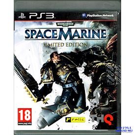 WARHAMMER 40000 SPACE MARINE LIMITED EDITION PS3