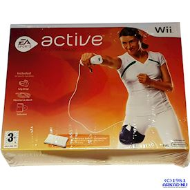 EA SPORTS ACTIVE FITNESS TRAINER WII NYTT INPLASTAT