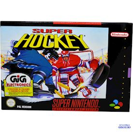 SUPER HOCKEY SNES