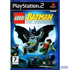 LEGO BATMAN THE VIDEOGAME PS2 HOLLÄNDSK UTGÅVA