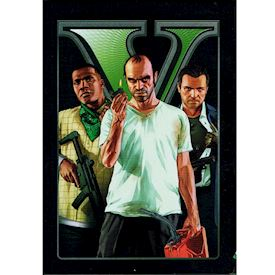 GRAND THEFT AUTO V SPECIAL EDITION STEELBOOK XBOX 360