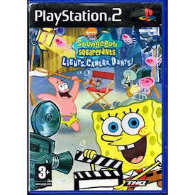 SPONGEBOB SQUAREPANTS LIGHTS, CAMERA,PANTS PS2