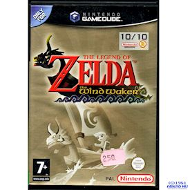 THE LEGEND OF ZELDA THE WIND WAKER GAMECUBE