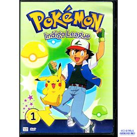 POKEMON INDIGO LEAGUE DVD