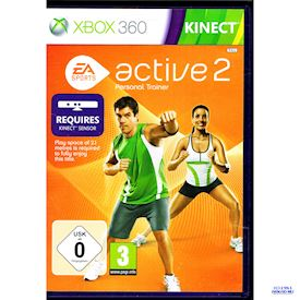 EA SPORTS ACTIVE 2 PERSONAL TRAINER XBOX 360