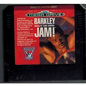 BARKLEY SHUT UP AND JAM MEGADRIVE