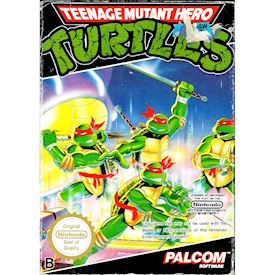 TEENAGE MUTANT HERO TURTLES NES SCN