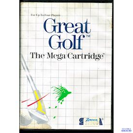 GREAT GOLF MASTERSYSTEM