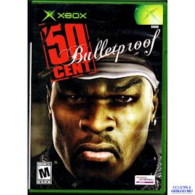 50 CENT BULLETPROOF XBOX NTSC