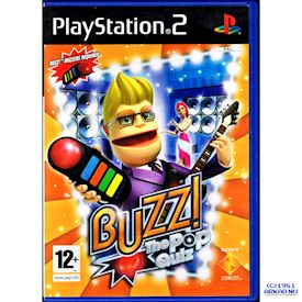 BUZZ THE POP QUIZ PS2
