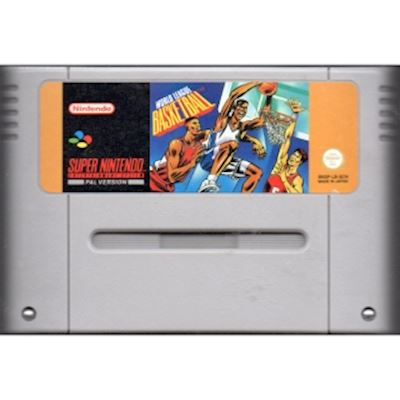 WORLD LEAGUE BASKETBALL SNES SCN