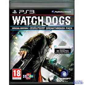 WATCHDOGS SPECIAL EDITION PS3