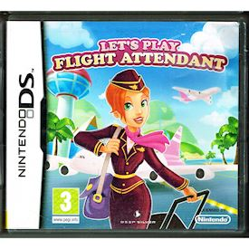 LETS PLAY FLIGHT ATTENDANT DS