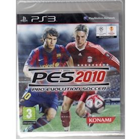 PRO EVOLUTION SOCCER PES 2010 PS3 NYTT